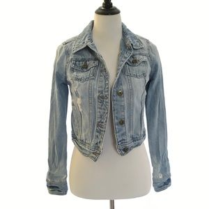 Heritage 1981 Distressed Destroyed Jean Jacket